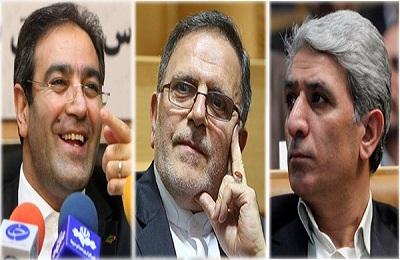 ولی اله سیف،محمدرضا حسین زاده،شاپور محمدی
