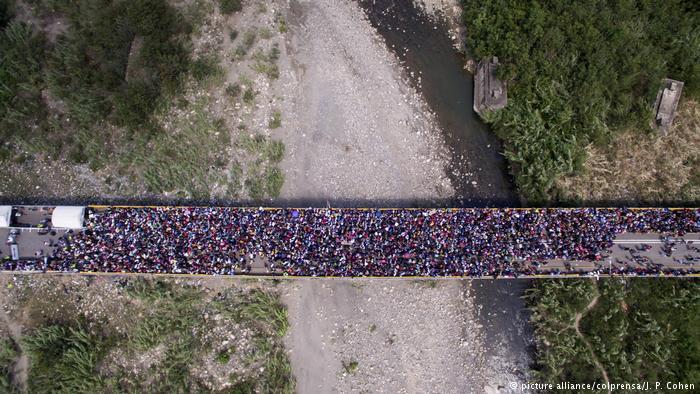 فرار مردم ونزوئلا