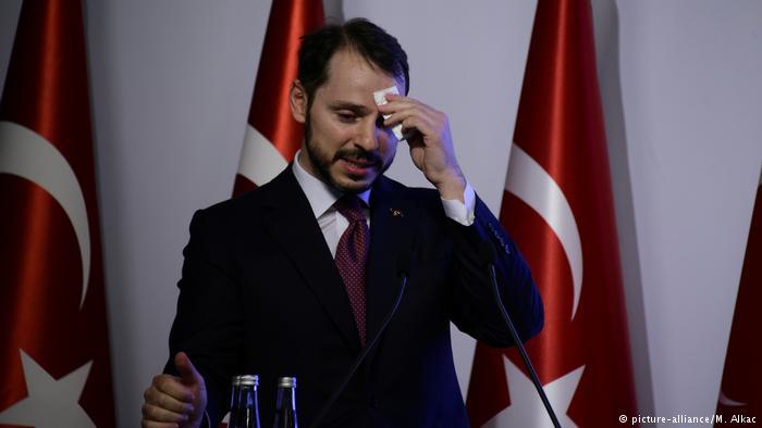 ویزر اقتصاد ترکیه،داماد اردوغان